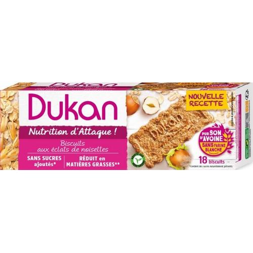 Μπισκότα Βρώμης με Φουντούκι Dukan 225g
