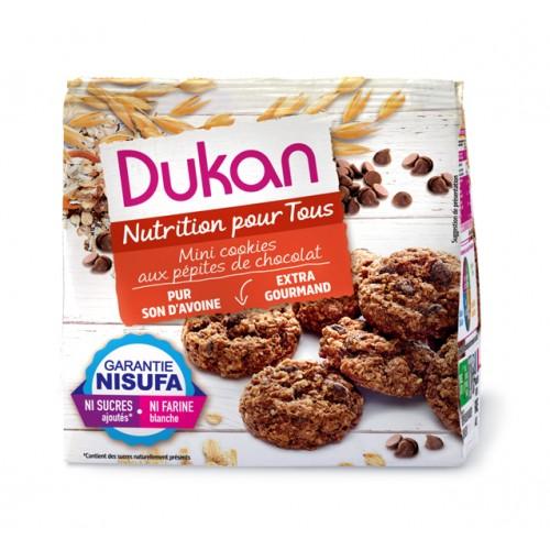 Μίνι Cookies Βρώμης με κομμάτια Σοκολάτας Dukan 100g